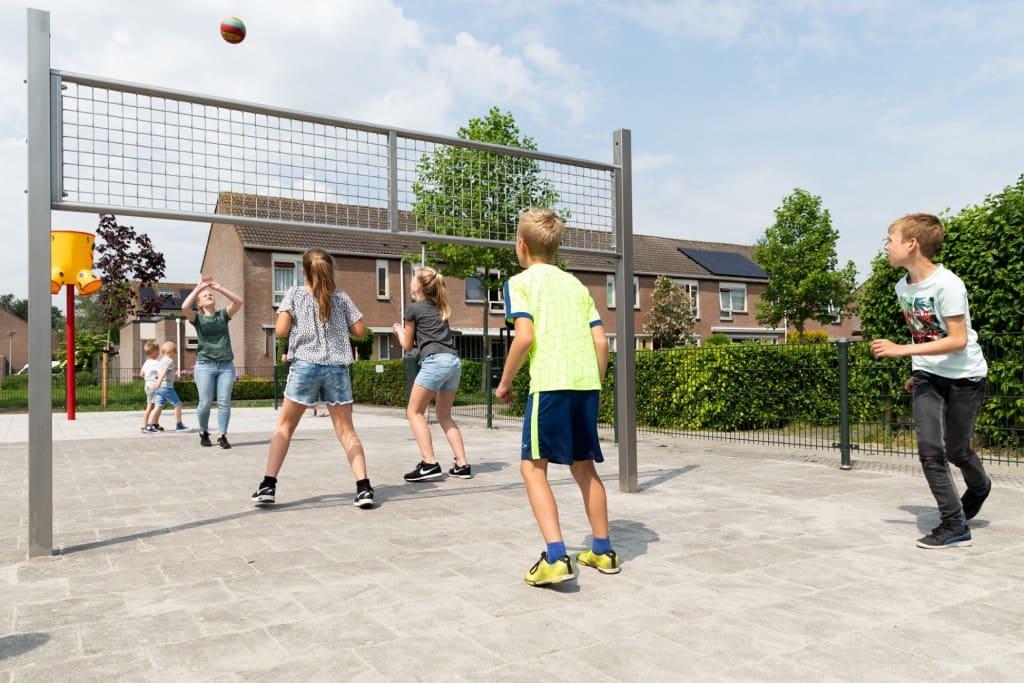 Outdoor volleybal net